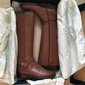 Leela Grand Riding Boot by Cole Haan